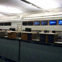 Photo taken at JetBlue Ticket Counter by Libster C. on 2/18/2014