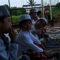 Photo taken at Masjid Al-Aqobah V by Hazmin Z. on 8/7/2013