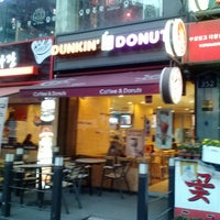 Photo taken at DUNKIN' DONUTS by Tae-ho K. on 3/8/2014
