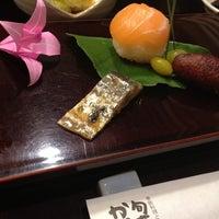 Photo taken at 旬菜 かがりや by  banbi on 9/6/2013