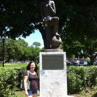 Photo taken at Andy Gump Statue by Laura v. on 6/16/2013