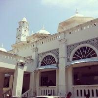 Photo taken at Masjid Abidin (Masjid Putih) by Syed Halim S. on 3/8/2013