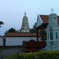 Photo taken at วัดมโนธรรมมาราม (นางโน) by Thetepornn T. on 2/9/2013