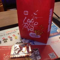 Photo taken at 롯데리아 Lotteria by KimPink on 8/9/2013