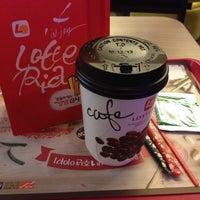 Photo taken at 롯데리아 Lotteria by KimPink on 1/24/2014