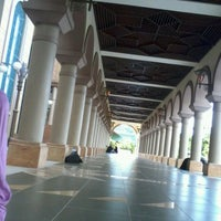 Photo taken at Masjid Islamic Centre by Ahmad M. on 11/17/2012