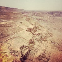 Photo taken at Masada by Alla V. on 3/31/2013