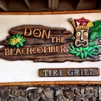 Photo taken at Don the Beachcomber by Sean R. on 1/28/2016
