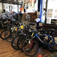 Photo taken at Missing Link Bicycle Cooperative by Sean R. on 7/12/2017