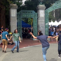 Photo taken at Sather Gate by Sean R. on 4/22/2017