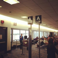 Photo taken at Concourse A by Sean R. on 8/23/2013