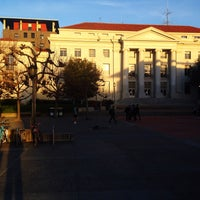 Photo taken at Sproul Plaza by Sean R. on 2/13/2017