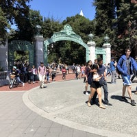 Photo taken at Sather Gate by Sean R. on 8/29/2017