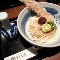 Photo taken at うどん棒 大阪本店 by rumi-rumi on 10/1/2012