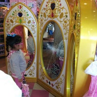 Photo taken at Disney store by Chelsea R. on 2/27/2013