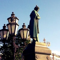 Снимок сделан в Пушкинская площадь пользователем Alena S. 6/5/2013