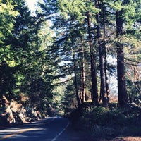 Photo taken at Chuckanut Drive by Cathy W. on 1/22/2014