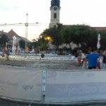 Photo taken at Trg svetog Trojstva by Branislav G. on 7/26/2016
