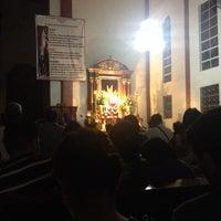 Photo taken at Sta. Clara de Montefalco Parish Church by Niezel F. on 4/17/2014