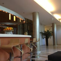 Photo taken at Lanchid 19 Design Hotel Budapest by Tom D. on 10/3/2012