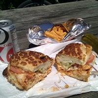 Photo taken at Mr. Pickle's Sandwich Shop by Jef P. on 7/13/2013