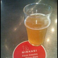 Photo taken at Ninkasi Cordeliers by Alexandre T. on 10/25/2013