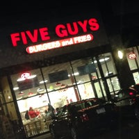 Photo taken at Five Guys by Gerald B. on 2/22/2014