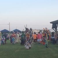Photo taken at Peoria pow Wow by Tabatha P. on 6/23/2013