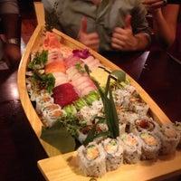Photo taken at Makiman Sushi by Matt O Rules on 10/20/2012