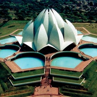 Photo taken at Lotus Temple (Bahá'í House of Worship) by Master M. on 1/25/2013
