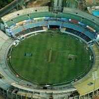 Photo taken at Rajiv Gandhi Cricket Stadium by Master M. on 4/7/2013