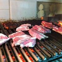 Photo taken at Braseria Al Punto by Zeros M. on 12/22/2012