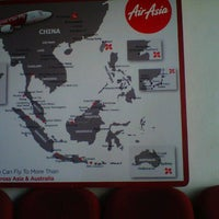 Photo taken at Air asia office by Deezee D. on 7/3/2013
