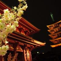 3/22/2013 tarihinde Yu O.ziyaretçi tarafından Senso-ji Temple'de çekilen fotoğraf