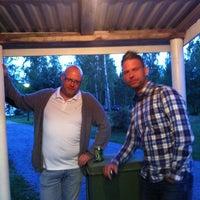 Photo taken at Parken by Karl-Johan H. on 8/17/2013