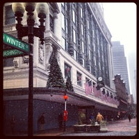 Photo taken at Downtown Crossing by Amira on 3/7/2013