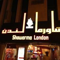 Photo taken at Shawarma London by Khalid S. on 3/17/2013