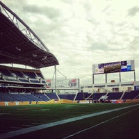 Photo taken at Investors Group Field by Caley G. on 6/12/2013