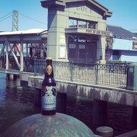 Photo taken at Gate E - Alameda/Oakland/Harbor Bay Ferry Dock by Jack B. on 5/17/2013