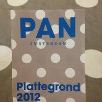 Photo taken at PAN Amsterdam by Carolina N. on 11/18/2012