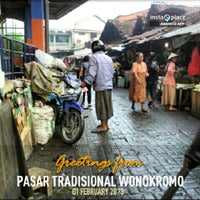 Photo taken at Pasar Maling Wonokromo by Muhammad I. on 1/31/2013