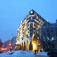 Снимок сделан в InterContinental Kyiv пользователем Elena P. 12/20/2012
