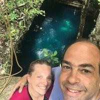Photo taken at Cenote Pit by Karen D. on 8/16/2016