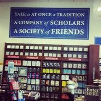 Photo taken at Yale University Bookstore by Liz on 10/5/2012