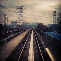 Photo taken at RapidKL Kelana Jaya (KJ24) LRT Station by dyno on 5/19/2013
