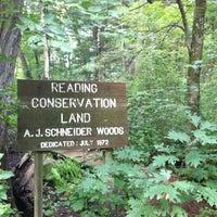 Photo taken at A.J Schneider Woods by Teresa H. on 8/4/2013