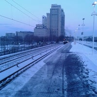 Photo taken at Metrostation Spaklerweg by Michel K. on 1/16/2013