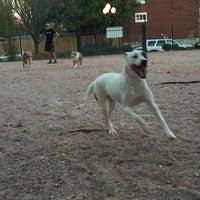 Photo taken at Shaw Neighborhood Dog Park by Nikki V. on 11/14/2015