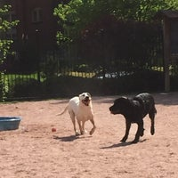 Photo taken at Shaw Neighborhood Dog Park by Nikki V. on 4/29/2015