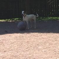 Photo taken at Shaw Neighborhood Dog Park by Nikki V. on 4/30/2015